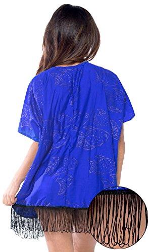 De Ropa Kimono Ganchillo Exóticas Corto Protector q452 Playa Praia Cardigan Encaje Solar Vendimia Leela Azul Vestido La Mini C Mujeres Borlas q8wtxY4aa