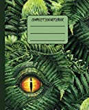 Composition Notebook: Trendy Blank Wide Ruled Notebook for Boys, Students, Teens, College | Keep Notes Organized, Journaling, Homework, Handwriting & ... (Dinosaur Lovers Composition Notebooks)