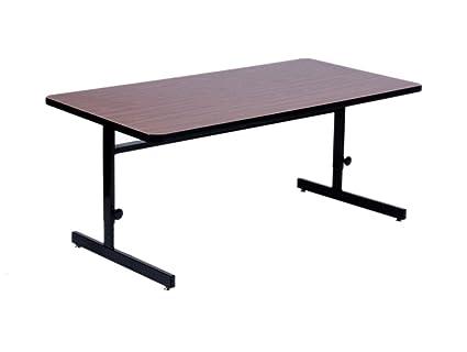 amazon com high pressure adjustable height computer table 24 in rh amazon com high gloss computer table high gloss computer table