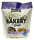 "Three Dog Bakery ""Mutt"" Assortment Oats Applesauce Peanut & Vanilla Flavor Cookies (1 Pack), 2 Lb For Sale"