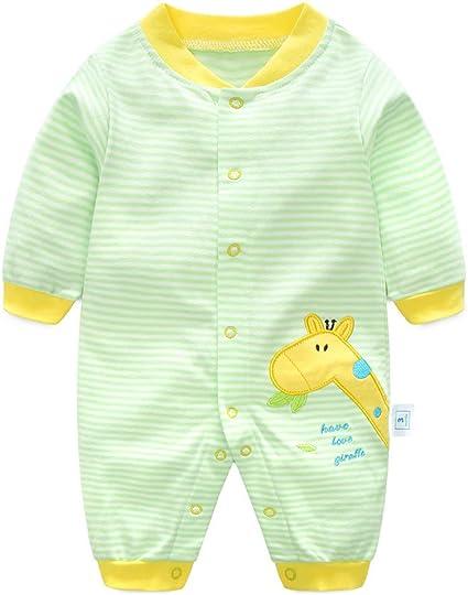 Image ofRecién Nacido Pijama Bebés Algodón Mameluco Niñas Niños Peleles Sleepsuit Caricatura Trajes