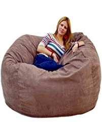 Cozy Sack 5 Feet Bean Bag Chair, Large, Earth