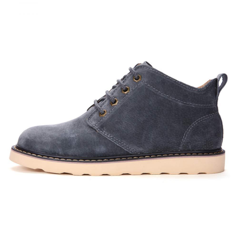 FHCGMX Walking Arbeitsstiefel Für Männer Erwachsene Männliche Schuhe Erwachsene Männer Winter Pelz Lässige Stiefeletten Mode Schuhe b51e03