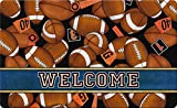 Toland Home Garden Game Time 18 x 30 Inch Decorative Welcome Floor Mat Football Sport Doormat
