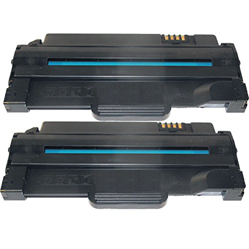 1135 Toner Cartridge (2 Inktoneram® Replacement toner cartridges for Dell 1130 / 1133 /1135 1130 1133 1135n Toner Cartridge High Yield replacement for Dell 330-9523 2.5K 1133 1135n 1130 1130n)