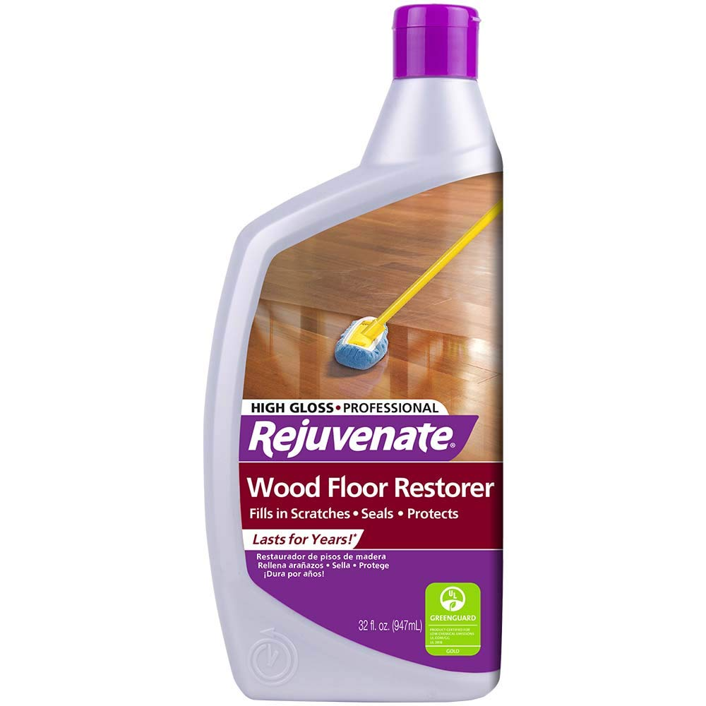 Rejuvenate Professional Wood Floor Restorer Polish With Durable Finish Non Toxic Easy Mop On Application Dries In As Little As 45 Minutes Residential