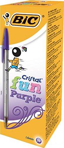 bic-cristal-fun-ball-pen-purple-box-of-20