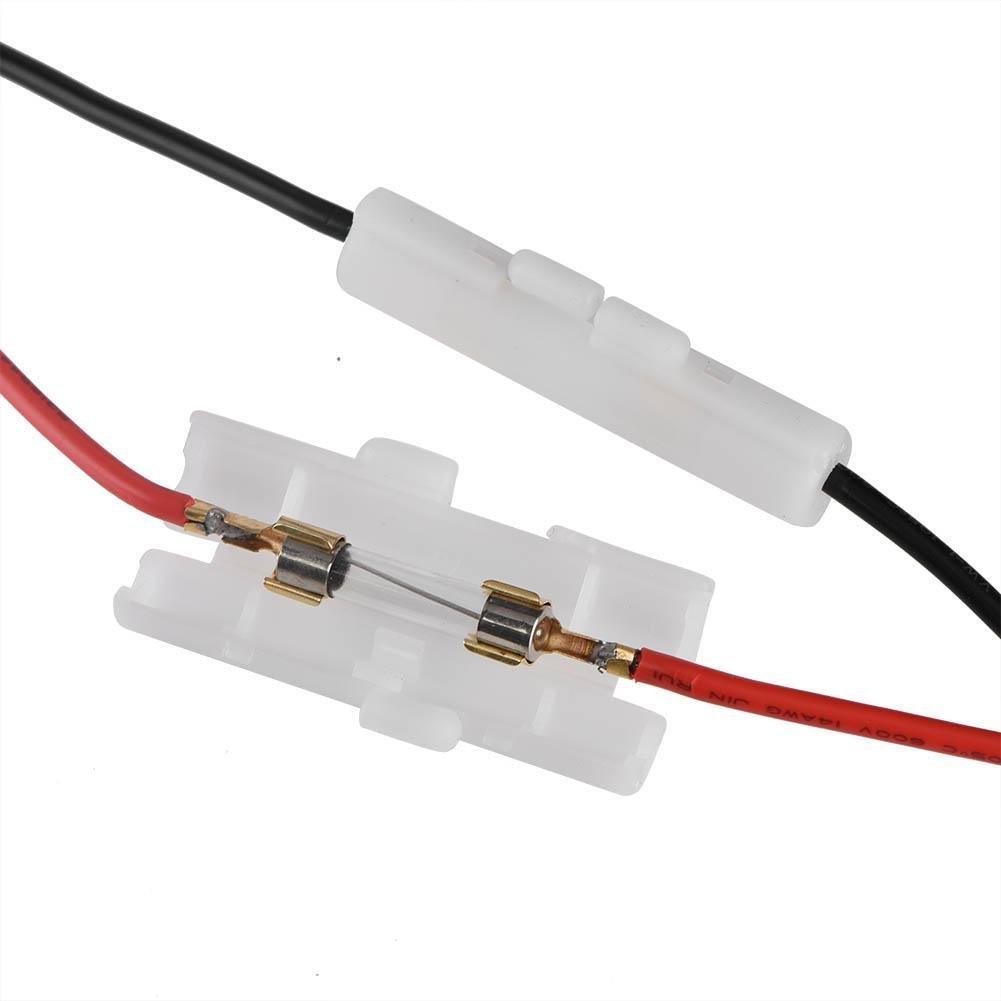 Zerone YAESU Adaptador de enchufe macho para mechero 12 V-14 V, 20 A, cable de alimentaci/ón con cable para coche inversor, bomba de aire, taza el/éctrica y bricolaje