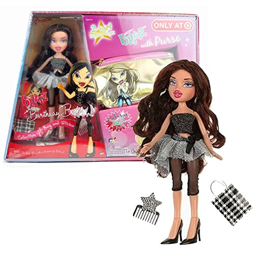 MGA Entertainment Bratz Birthday Bash Series 10 Inch Doll - PHOEBE with Earrings, Shopping Bag and Comb Plus Exclusive Bratz Purse for -