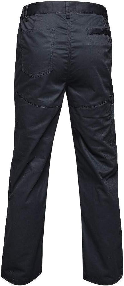 Regatta Mens Professional Pro Action Hardwearing Water Repellent Multi Pocket Trousers Trousers