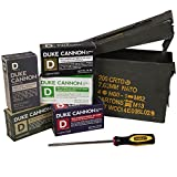 screwdriver Duke Cannon Gift Set - Limited Edition Military Ammo Can Includes All Four Big American Soaps, A Heavy Duty Pumice Soap, And A Stanley Screwdriver To Complete The Look