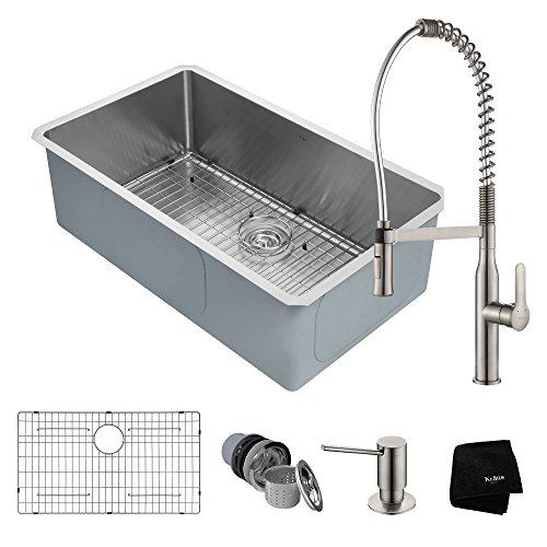 36 stainless steel utility sink - 4