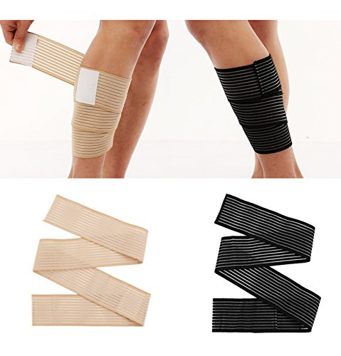 Calf Wraps for Running Sleeve Package Leg Wraps Calf Wraps Calf Guard for Men and Women 2 Pairs - Shin Compression Wrap