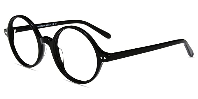 c567ced460 Amazon.com  Firmoo Cute Round Reading Glasses with Magnification + ...