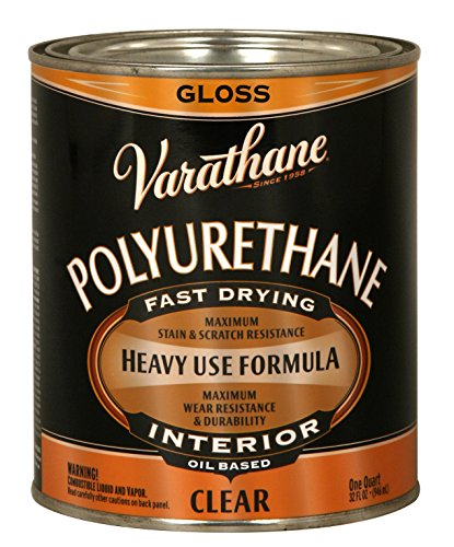 Interior Gloss Varnish (Rust-Oleum Varathane 9041H 1-Quart Interior Oil Polyurethane, Gloss Finish)