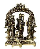 "eSplanade Brass Ram Darbar (Rama,Sita,Laxman,Hanuman) Murti Idol Statue Sculpture (5.5"") ... (5.5"" Ram Darbar)"