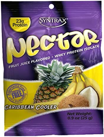 Syntrax Nectar Grab N Go, Caribbean Cooler Powder, 25-Grams