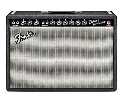 - Fender Vintage Reissue '65 Deluxe Reverb Guitar Combo Amp Black