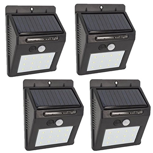 Solar Security Light With Pir in US - 4