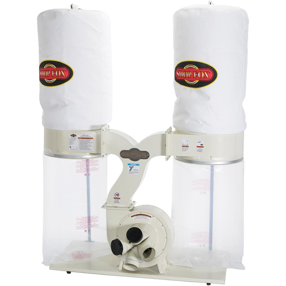 SHOP FOX W1687 Dust Collector