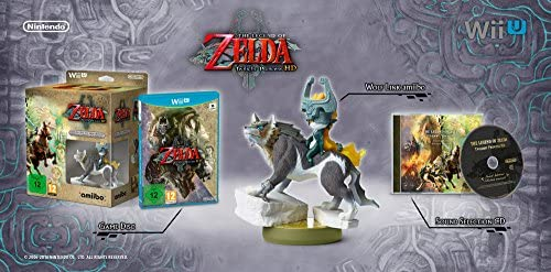 The Legend Of Zelda: Twilight Princess + amiibo Wolf Link + CD: Amazon.es: Videojuegos
