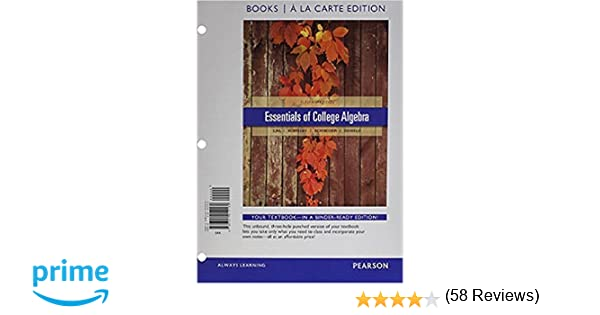 College Algebra Lial Hornsby Schneider 11Th Edition