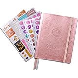Law of Attraction Life Planner - Academic Planner to Increase Productivity & Happiness - Weekly Planner, Organizer & Gratitude Journal (July Dated, Rose Gold) + Bonus Planner Stickers