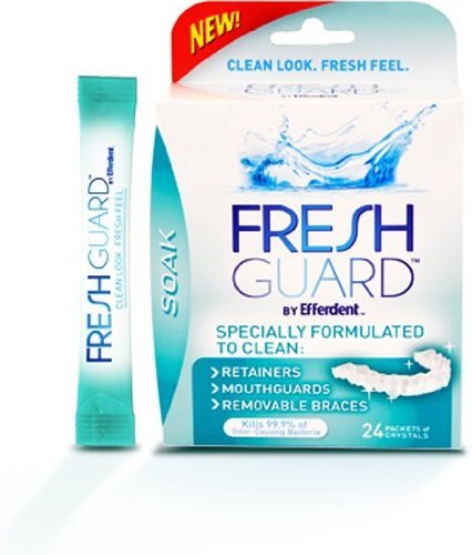 Fresh Guard Soak Specially Formulated for Retainers Mouthguards and Removable Braces, 24 Count (Pack of 12) by Fresh Guard (Image #1)