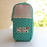 Birthday Gifts for Her, Urmiss(TM) Outdoor Sports Universal Cross-body Cell Phone Pouch Case Mini Canvas Shoulder Bag Zip-Closed Double Wrist Neck Bag for iPhone 6 6S