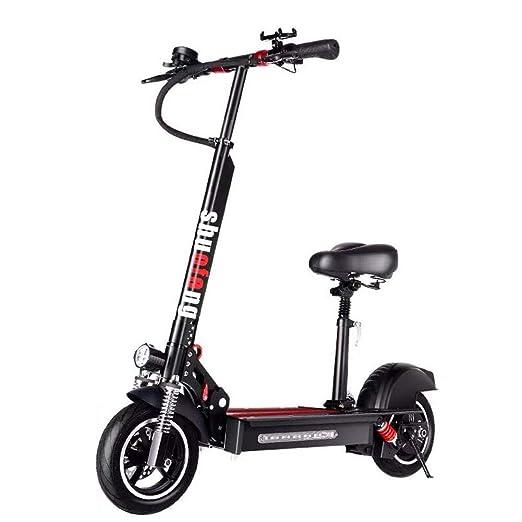 ZBB Scooter eléctrico Scooter eléctrico de 10 Pulgadas ...