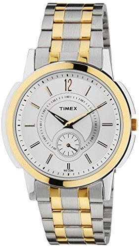 Timex Empera Analog Silver Dial Men #39;s Watch   TW000U306