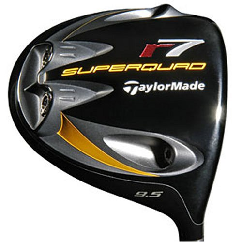 TaylorMade Men's r7 SuperQuad 460 Driver (Left-Handed, 10.5 Degree Loft, RE-AX SuperFast 65 Graphite Regular Shaft)