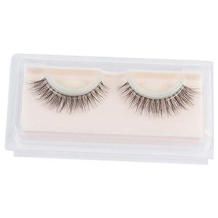 Pestañas postizas Maquillaje de pestañas postizas Self-Adhesive naturales 3D Maquillaje de pestañas postizas.