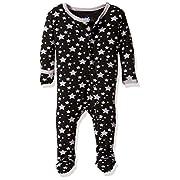 KicKee Pants Baby Print Footie Prd-kpf173-Mnsr, Midnight Stars, 3-6 Months