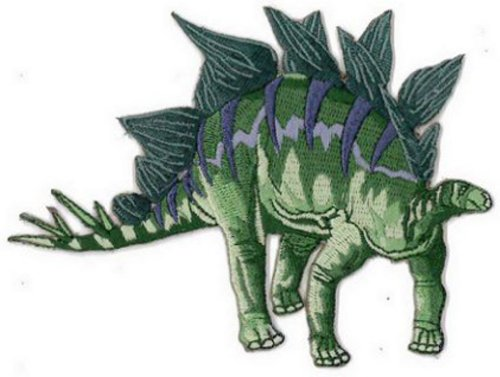 stegosaurus embroidered patch