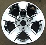 16 chevy chrome rims - 20 INCH 2014 2015 14 15 CHEVY SILVERADO TAHOE OEM CHROME ALLOY WHEEL RIM 5651