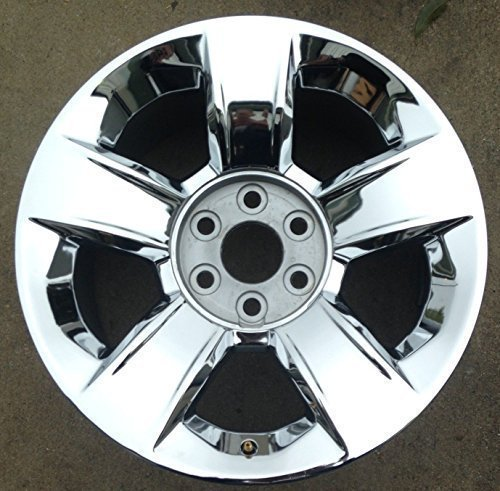20 INCH 2014 2015 14 15 CHEVY SILVERADO TAHOE OEM CHROME ALLOY WHEEL RIM 5651