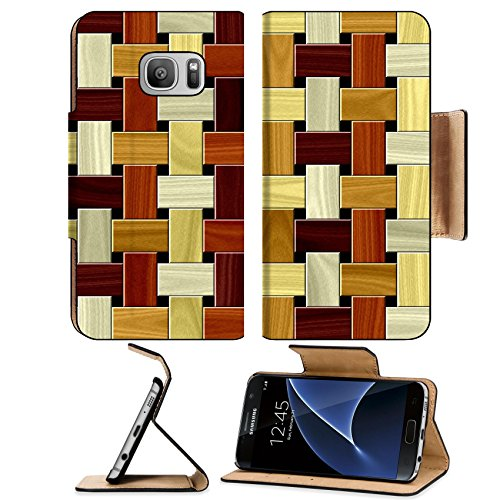 Luxlady Premium Samsung Galaxy S7 Flip Pu Leather Wallet Case IMAGE ID: 34729796 Wood floor pattern seamless generated hires texture - Mahogany Wall Hardwood Flooring
