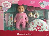 American Girl - Bitty Baby Doll + Special Starter Collection - Light Skin, Brown Hair, Brown Eyes.