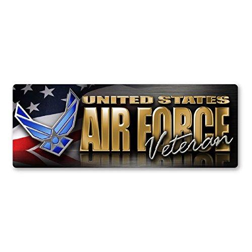 - Air Force Veteran Bumper Strip Magnet
