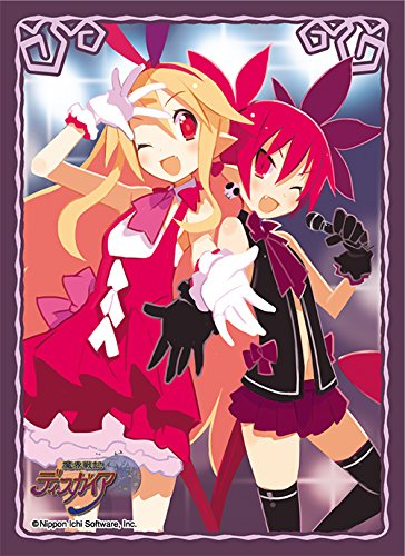 Disgaea Hour of Darkness Flonne & Etna Trading Character Sleeve Card Game Anime