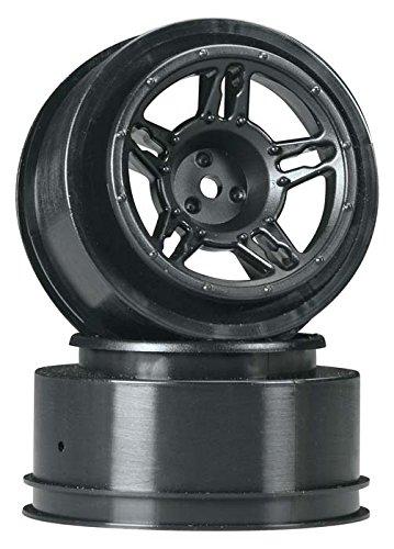UPC 753600238228, Duratrax Slash Front SC Wheel (2 Piece), Black