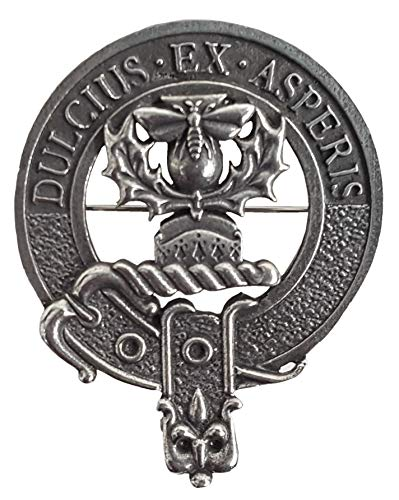 Gaelic Themes Ferguson Scottish Family Clan Crest Badge/Brooch