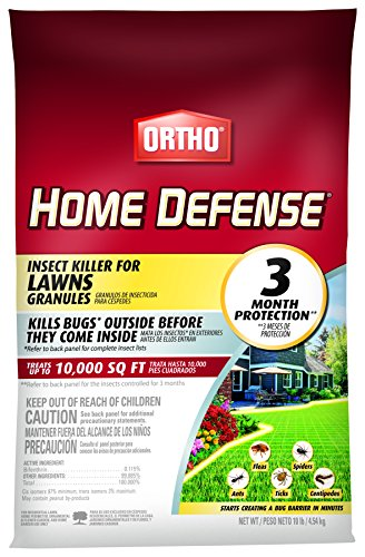 Ortho Home Defense Insect Killer for Lawns Granules, 10 lb.