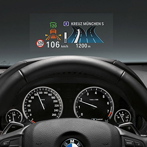 """RED SHIELD Universal Head Up Display HUD Reflective Windshield Film 7.5"""" for All Car Makes and Models. Premium Quality High Definition (HD) Clarity Film. Compatible with All HUD Units and Smartphones."""
