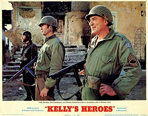 Kelly's Heroes POSTER Movie (1970) Style D 11 x 14 Inches - 28cm x 36cm (Clint Eastwood)(Donald Sutherland)(Telly Savalas)(Gavin MacLeod)(Don Rickles)(Carroll O'Connor)(Stuart Margolin)