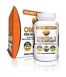 reflex omega 3 - Me First Living Fish Oil, 2000mg Omega 3, 800mg EPA, 400mg DHA, Burpless, 60 Softgels