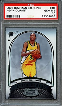 2007-08 Topps #2 Kevin Durant Rookie Graded PSA 10