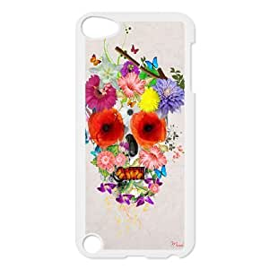 Custom Colorful Case for Ipod Touch 5, Skull Cover Case - HL-R636654