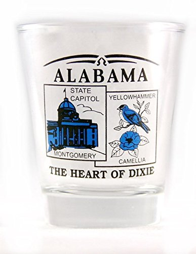 Alabama State Scenery Blue New Shot - Alabama Glass